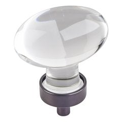 "Harlow Cabinet Knob 1-5/8"" L - Brushed Oil Rubbed Bronze"