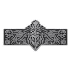 English Garden 3 Inch Center to Center Antique Pewter Cabinet Pull <small>(#NHP-678-AP)</small>