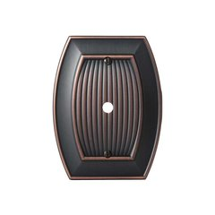Allison One Cable Wall Plate Oil Rubbed Bronze