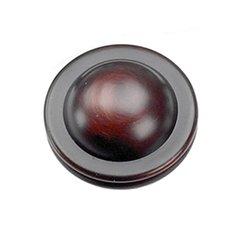 Kama 1-1/4 Inch Diameter Oil Rubbed Bronze Cabinet Knob <small>(#23866)</small>