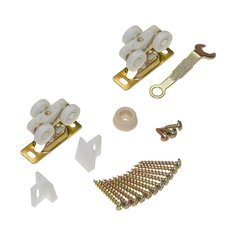 111 Series Pocket Door Hardware Set for 1 Door