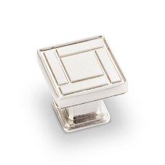 Rochester 1-1/8 Inch Diameter Satin Nickel Cabinet Knob