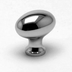 Valencia 1-3/16 Inch Diameter Polished Chrome Cabinet Knob