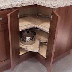 "ReCorner Maxx Kidney Lazy Susan 30"" Maple"