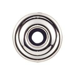 "Devon Brixton Backplate 1 3/8 "" Dia Polished Nickel <small>(#TK890PN)</small>"