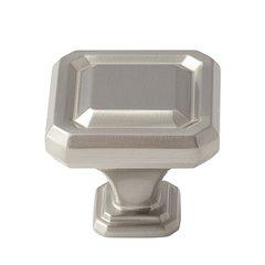 Wells 1-1/2 Inch Diameter Satin Nickel Cabinet Knob <small>(#BP36547G10)</small>