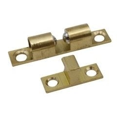 Solid Brass Double Ball Catch