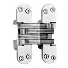 #418 Fire Rated Invisible Hinge Satin Brass