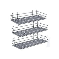 "DSA Three Basket Set 6.50"" Wide - Chrome"