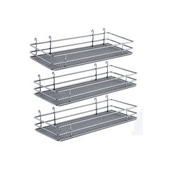 DSA Three Basket Set 6.50 inch Wide - Chrome