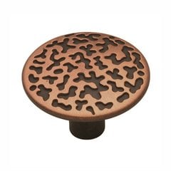 "Southwest Lodge Knob 1-1/16"" Dia Antique Copper"