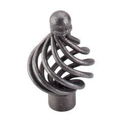 Normandy 1-1/4 Inch Diameter Pewter Cabinet Knob <small>(#M610)</small>