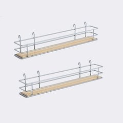 "DSA Two Basket Set 3.38"" Wide - Silver/Maple <small>(#9000 2585)</small>"
