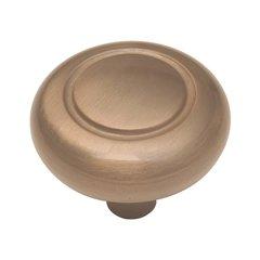Eclipse 1-1/4 Inch Diameter Satin Bronze Cabinet Knob <small>(#P209-SBZ)</small>