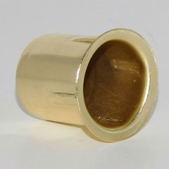 "Thimble Strike 1"" Diameter Brass Plated Steel <small>(#TS-100-BP)</small>"