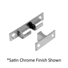 1-7/8 inch Friction Catch with Strike Bright Chrome <small>(#1718-625)</small>