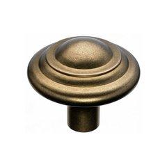 Aspen 1-3/4 Inch Diameter Light Bronze Cabinet Knob <small>(#M1476)</small>