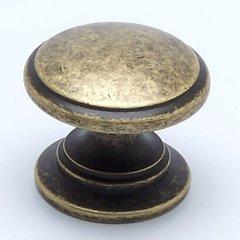 Andante 1-3/16 Inch Diameter Dull Bronze Cabinet Knob <small>(#7894-1DBZ-P)</small>