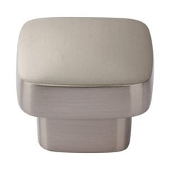 Chunky Knobs 1-3/8 inch Diameter Brushed Nickel