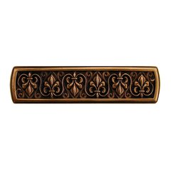 Olde World 3 Inch Center to Center Antique Copper Cabinet Pull <small>(#NHP-660-AC)</small>