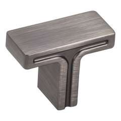 "Anwick Cabinet Knob 1-3/8"" L - Brushed Pewter <small>(#867BNBDL)</small>"