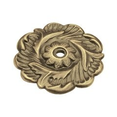 Cavalier 2-3/8 Inch Diameter Antique Brass Back-plate