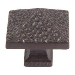 Craftsman 1-1/4 Inch Diameter Aged Bronze Cabinet Knob