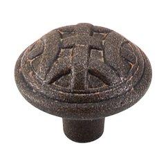 Tuscany 1-1/4 Inch Diameter Rust Cabinet Knob