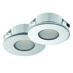 Hafele Loox 2022 12V LED Silver Spotlight Warm White 833.72.040