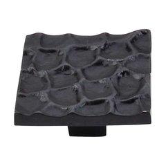 Cobblestone 1-15/16 Inch Diameter Coal Black Cabinet Knob <small>(#TK302CB)</small>