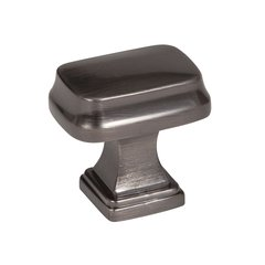 Revitalize 1-1/4 Inch Diameter Gunmetal Cabinet Knob <small>(#BP55340GM)</small>