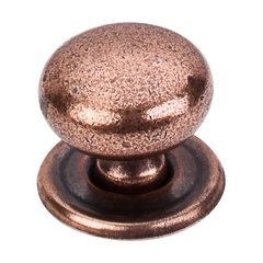Britannia 1-1/4 Inch Diameter Old English Copper Cabinet Knob <small>(#M26)</small>