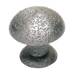 Olde World 1-3/8 Inch Diameter Pewter Cabinet Knob <small>(#272-P)</small>