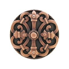 Olde Worlde 1-5/8 Inch Diameter Antique Copper Cabinet Knob