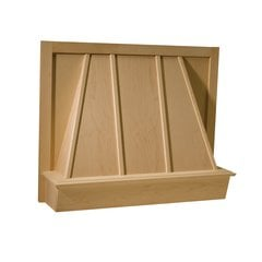 36 inch Wide Omega Series Canopy Range Hood-Maple