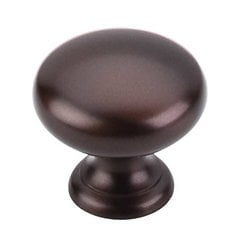 Normandy 1-1/4 Inch Diameter Oil Rubbed Bronze Cabinet Knob