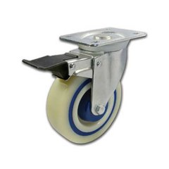 Polyamide-Rubber Caster with Swivel &Brake