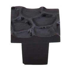 Cobblestone 1-1/8 Inch Diameter Coal Black Cabinet Knob <small>(#TK300CB)</small>