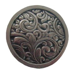 Classic 1-3/8 Inch Diameter Brite Nickel Cabinet Knob