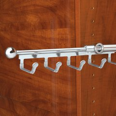 """Rev-A-Shelf Belt/Scarf 14"""" Organizer Chrome CBSR-14-CR"""