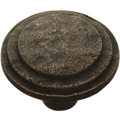 Riverside Knob 1-5/8 inch Diameter Antique Satin Bronze