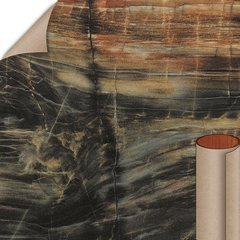 Petrified Wood HD Etchings Finish 4 ft. x 8 ft. Countertop Grade Laminate Sheet