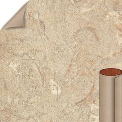 Formica Travertine Matte Finish 4 ft. x 8 ft. Countertop Grade Laminate Sheet 3526-58-12-48X096