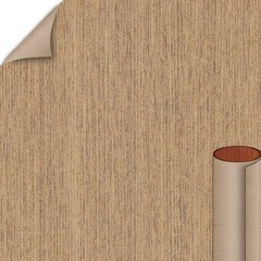 Pecan Woodline Matte Finish 4 ft. x 8 ft. Vertical Grade Laminate Sheet