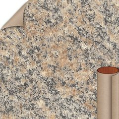Brazilian Brown Granite Matte Finish 5 ft. x 12 ft. Countertop Grade Laminate Sheet