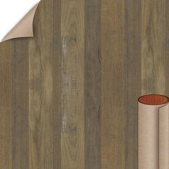 Salvage Planked Elm Matte Finish 4 ft. x 8 ft. Vertical Grade Laminate Sheet