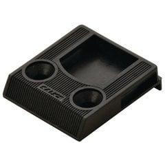 Door Catch for Screw-Mount Catch with Lip - Plastic Black