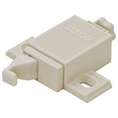 Push Hinge Adjustable Latch Adapter - Plastic Beige