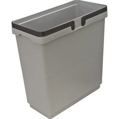 35 Quart Waste Container 438X219X460mm - Gray