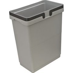 32 Quart Waste Container 365X219X460mm - Gray